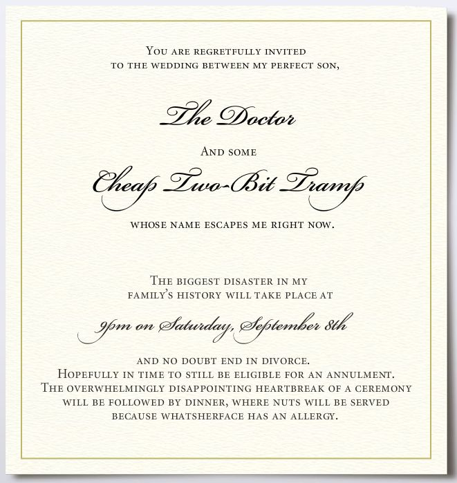 If Only The Fantasy Wedding Invitation Kitty Sheehan